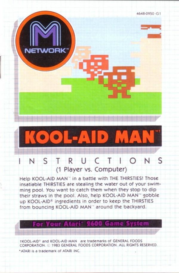 Kool Aid Man Manual B
